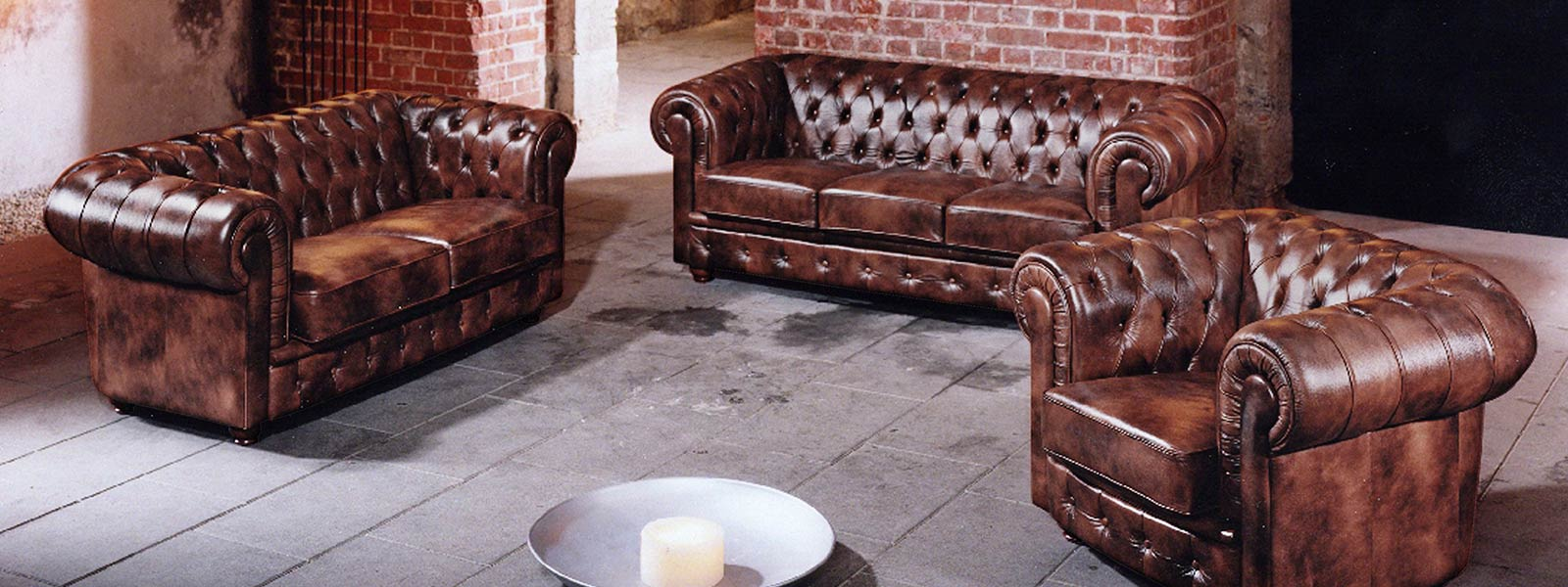 Chesterfield Garnitur Bristol