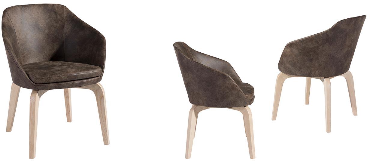 cocktailsessel und clubsessel neal von max winzer polsterm bel. Black Bedroom Furniture Sets. Home Design Ideas