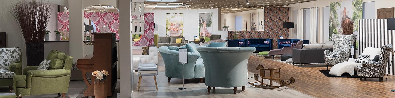 Max Winzer® – Showroom mit Polstermöbel-Fabrikverkauf